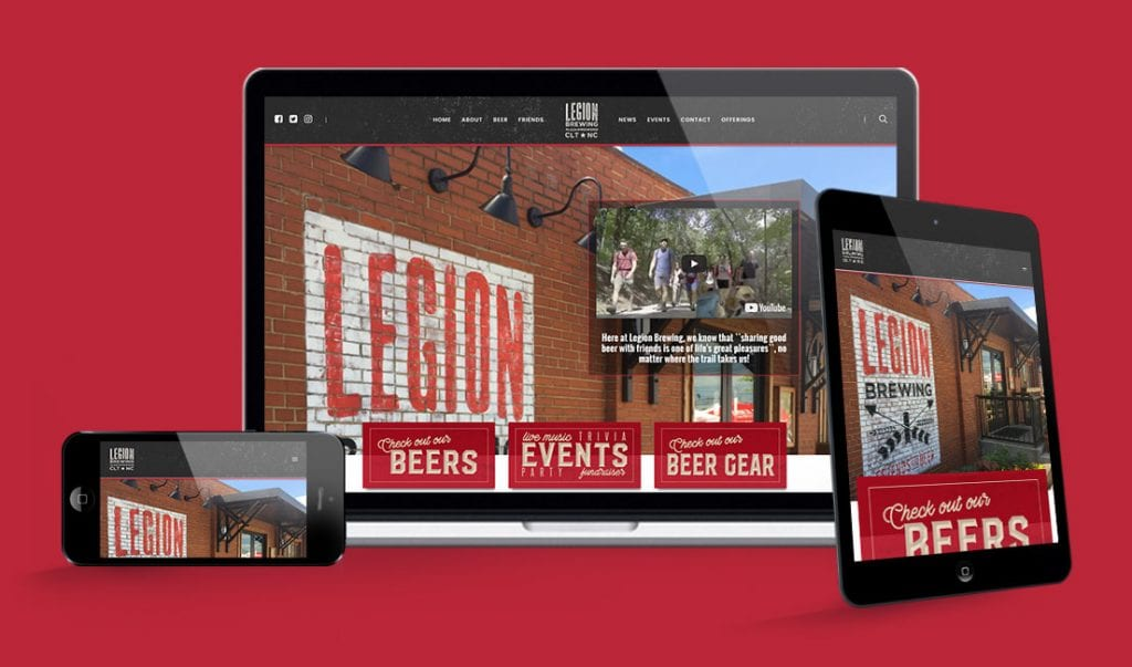 Legion Brewing Website