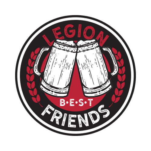 Legion Brewing Best Friends Coin Front