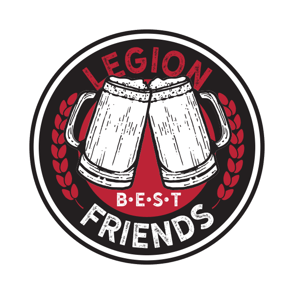 Legion Brewing Best Friends Coin Front