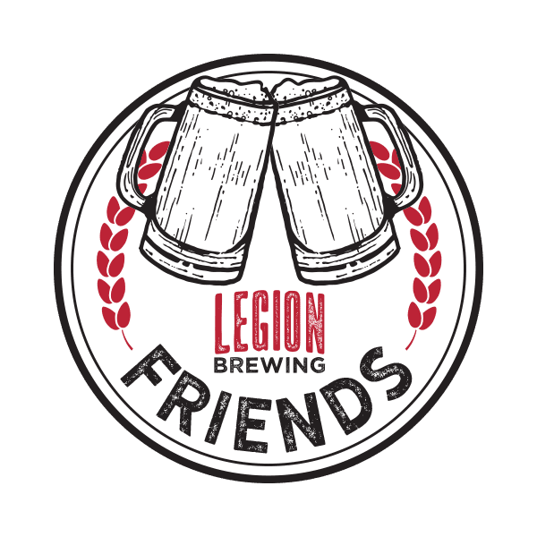 Legion Brewing Friends Coin Front