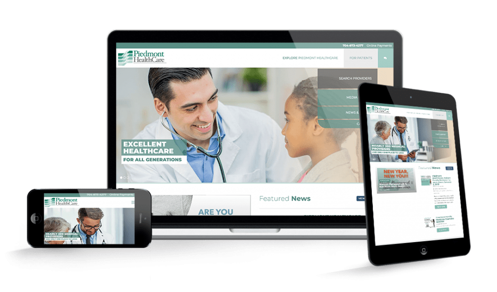 piedmont healthcare website